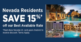 Cancún Resort Las Vegas - Nevada Resident Deal Save 15%